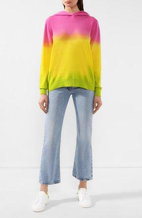 Женский кашемировое худи RALPH LAUREN разноцветного цвета, арт. 290798355 | Фото 2