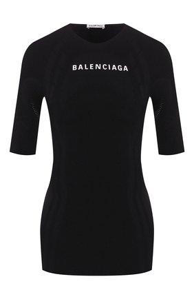 Женская топ BALENCIAGA черного цвета, арт. 570786/TEVC1 | Фото 1