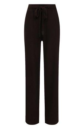 Женские кашемировые брюки LORO PIANA коричневого цвета, арт. FAI6763   Фото 1