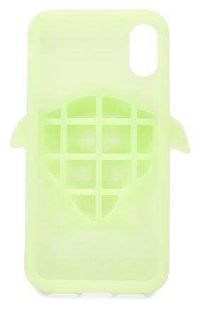 Мужской чехол для iphone x VERSACE светло-зеленого цвета, арт. DPY7314M/DPCME | Фото 2