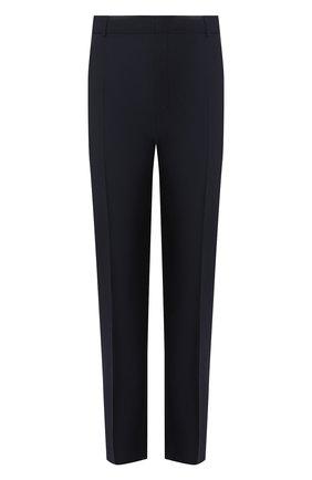 Мужской шерстяные брюки ALEXANDER MCQUEEN темно-синего цвета, арт. 595569/Q0U12 | Фото 1