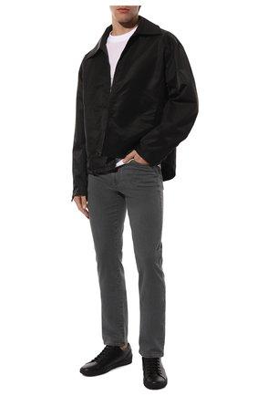 Мужские джинсы CANALI серого цвета, арт. 91700/PD00018 | Фото 2