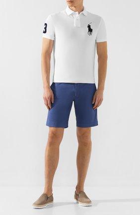 Мужские кожаные слипоны TOD'S светло-коричневого цвета, арт. XXM0TV0K9006RN | Фото 2