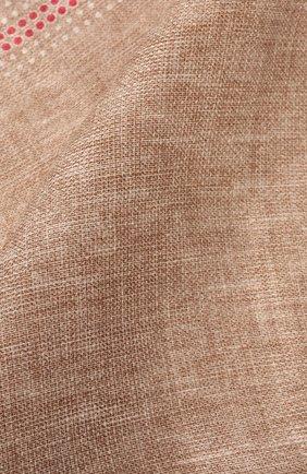 Платок из смеси льна и хлопка   Фото №2