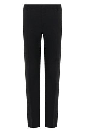 Мужской шерстяные брюки VALENTINO черного цвета, арт. TV3RB54025S | Фото 1