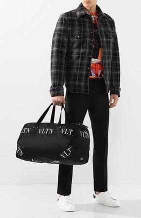 Мужская текстильная дорожная сумка valentino garavani VALENTINO черного цвета, арт. TY2B0732/RPY | Фото 2