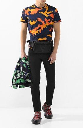 Текстильная поясная сумка Valentino Garavani VLOGO | Фото №2