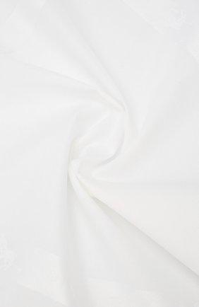 Мужской хлопковый платок SIMONNOT-GODARD белого цвета, арт. P0L0 | Фото 2