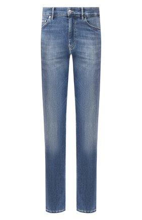 Мужские джинсы BOSS синего цвета, арт. 50421077   Фото 1