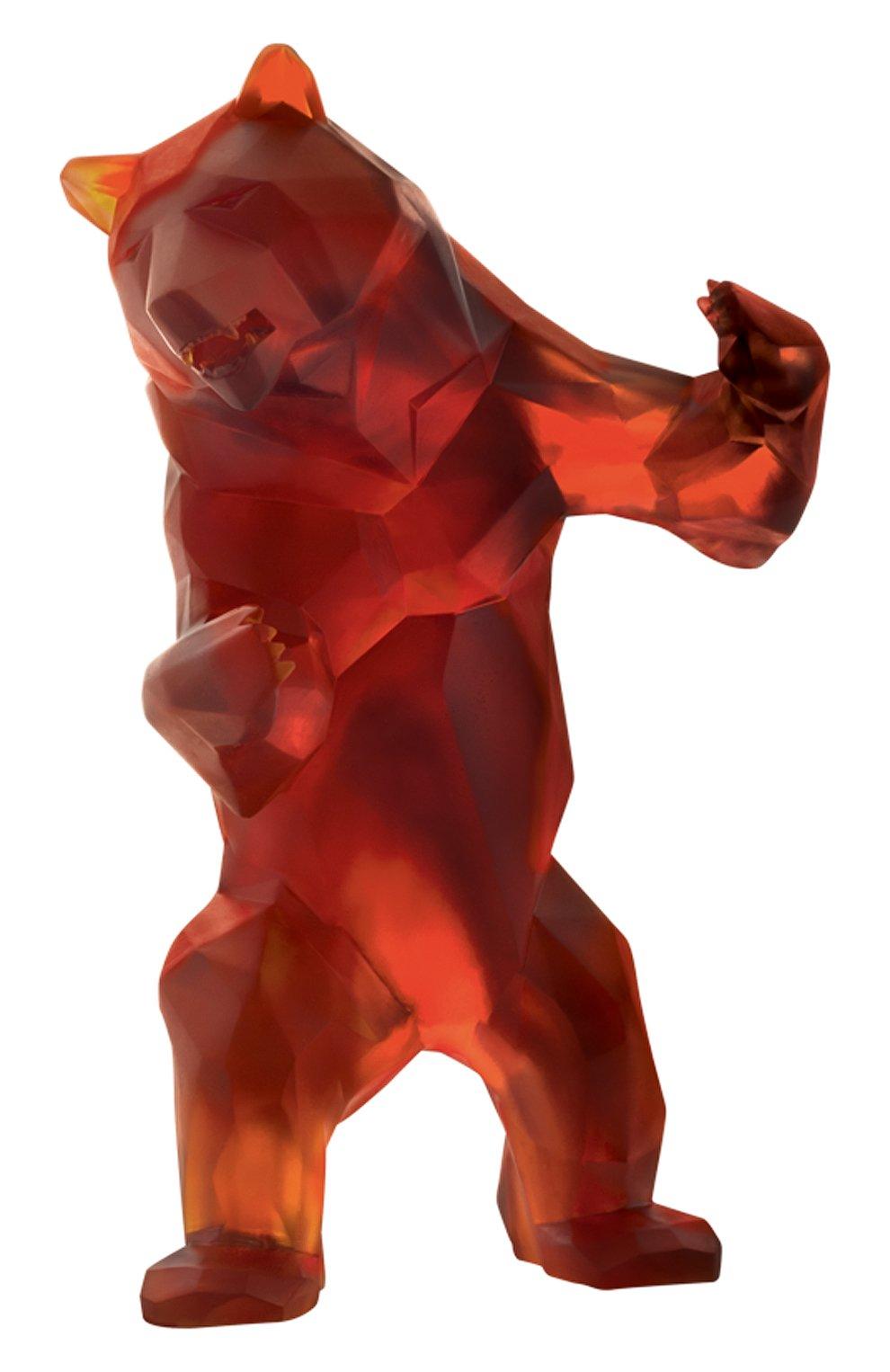 Мужского скульптура дикий медведь DAUM коричневого цвета, арт. 05383 | Фото 1