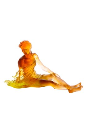 Мужского скульптура vent leger DAUM оранжевого цвета, арт. 05639   Фото 1