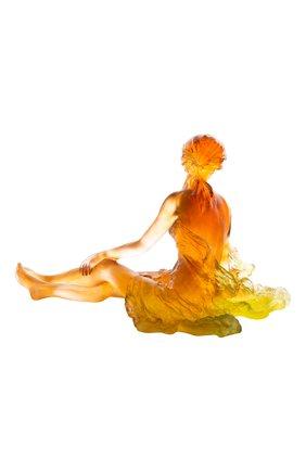 Мужского скульптура vent leger DAUM оранжевого цвета, арт. 05639   Фото 2