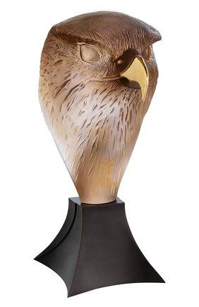 Мужская скульптура сокол DAUM коричневого цвета, арт. 05666 | Фото 1