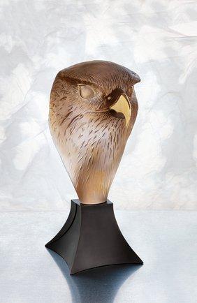 Мужская скульптура сокол DAUM коричневого цвета, арт. 05666 | Фото 2