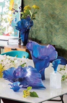 Мужского ваза arum DAUM синего цвета, арт. 05647 | Фото 2
