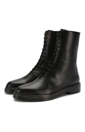 Кожаные ботинки Fara | Фото №1