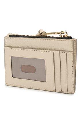 Женский кожаный футляр для кредитных карт MARC JACOBS (THE) кремвого цвета, арт. M0015123 | Фото 2