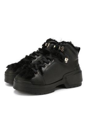 Кожаные ботинки Hardy Trapper | Фото №1
