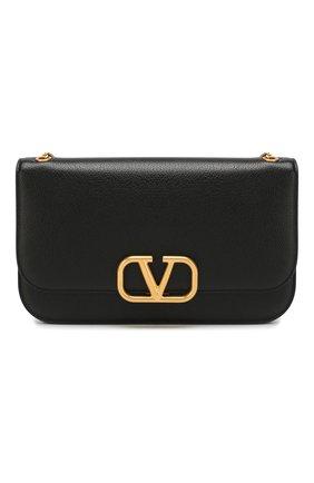 Женская сумка valentino garavani vlock medium VALENTINO черного цвета, арт. TW2B0F22/PAM | Фото 1