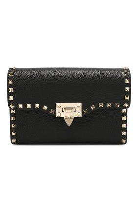 Женская сумка valentino garavani rockstud medium VALENTINO черного цвета, арт. TW2B0181/VSF | Фото 1