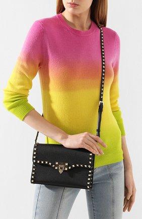 Женская сумка valentino garavani rockstud medium VALENTINO черного цвета, арт. TW2B0181/VSF | Фото 2