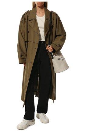 Женские кожаные кроссовки valentino garavani gumboy VALENTINO белого цвета, арт. TW2S0K55/AEQ | Фото 2