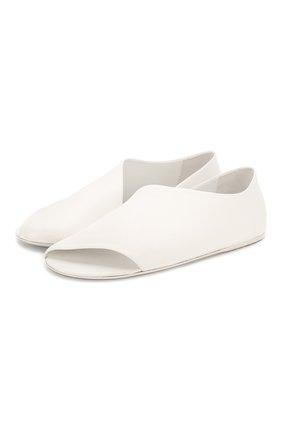 Женские кожаные сандалии MARSELL белого цвета, арт. MW1902/PELLE V0L0NATA | Фото 1