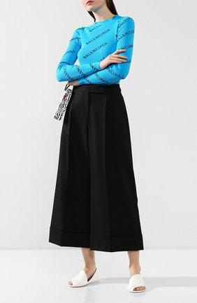 Женские кожаные сандалии MARSELL белого цвета, арт. MW1902/PELLE V0L0NATA | Фото 2