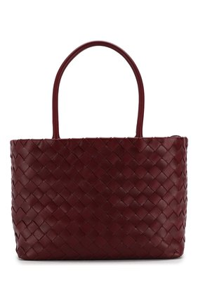 Женская сумка-тоут BOTTEGA VENETA бордового цвета, арт. 600887/VCPP1 | Фото 1