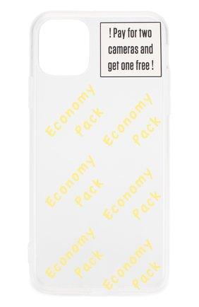 Мужской чехол для iphone 11 pro max MISHRABOO прозрачного цвета, арт. Economy 11 Pro Max   Фото 1
