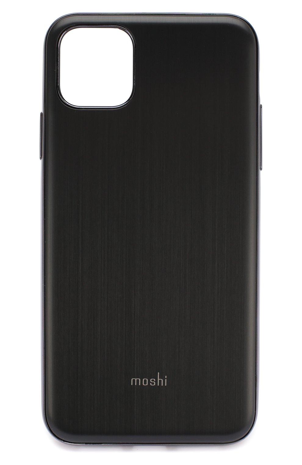 Мужской чехол для iphone 11 pro max MOSHI черного цвета, арт. 99MO113005   Фото 1