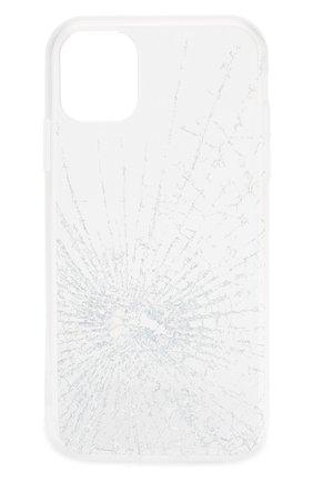 Мужской чехол для iphone 11 MISHRABOO прозрачного цвета, арт. Broken 11 | Фото 1