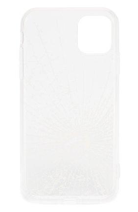 Мужской чехол для iphone 11 MISHRABOO прозрачного цвета, арт. Broken 11 | Фото 2