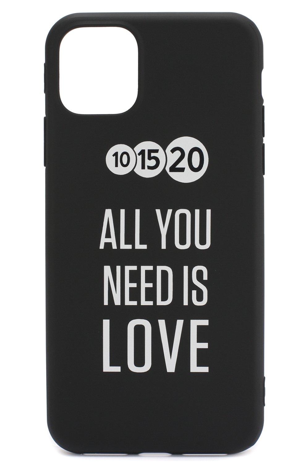 Мужской чехол для iphone 11 pro max MISHRABOO черного цвета, арт. All you need 11 Pro Max | Фото 1