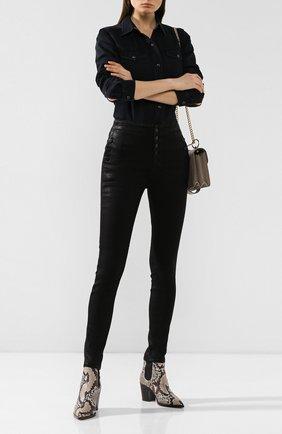 Женские джинсы J BRAND черного цвета, арт. JB001016/A | Фото 2