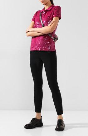 Женские брюки POLO RALPH LAUREN черного цвета, арт. 211773313 | Фото 2