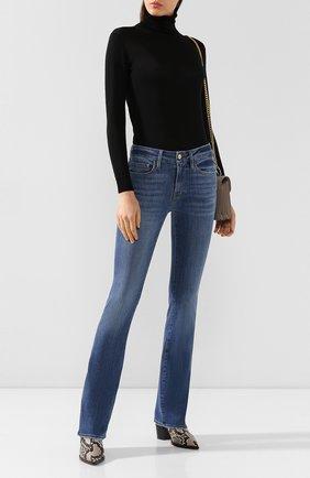 Женские джинсы FRAME DENIM голубого цвета, арт. LMB865 | Фото 2