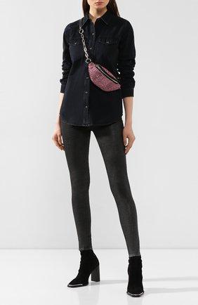 Женские джинсы J BRAND серебряного цвета, арт. JB000194/D   Фото 2