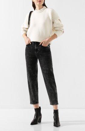 Женские джинсы 7 FOR ALL MANKIND серого цвета, арт. JSA7A200AA   Фото 2