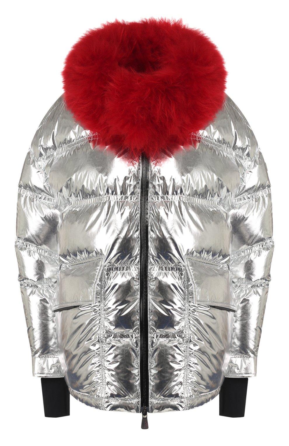 Женский куртка 3 moncler grenoble MONCLER GRENOBLE серебряного цвета, арт. E2-098-46803-15-C0283   Фото 1