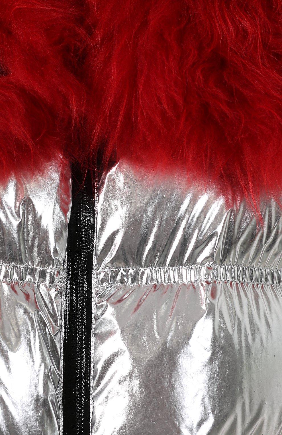 Женский куртка 3 moncler grenoble MONCLER GRENOBLE серебряного цвета, арт. E2-098-46803-15-C0283 | Фото 5