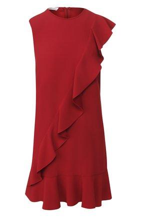 Женское платье REDVALENTINO красного цвета, арт. TR3VAL10/0F1 | Фото 1