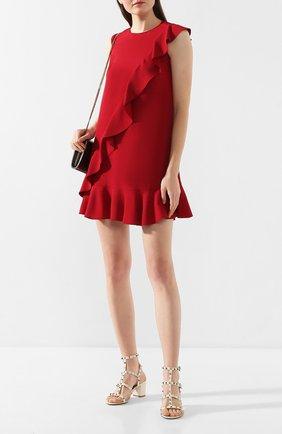 Женское платье REDVALENTINO красного цвета, арт. TR3VAL10/0F1 | Фото 2