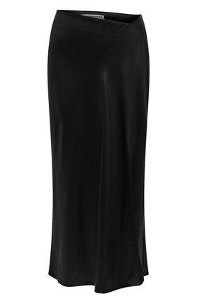 Женская юбка ALEXANDERWANG.T черного цвета, арт. 4WC1205005 | Фото 1