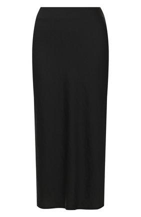 Женская юбка ALEXANDERWANG.T черного цвета, арт. 4WC1205002 | Фото 1