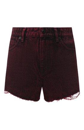 Женские джинсовые шорты DENIM X ALEXANDER WANG розового цвета, арт. 4DC1204689 | Фото 1