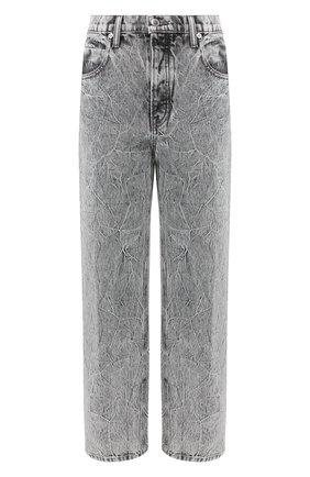 Женские джинсы DENIM X ALEXANDER WANG светло-серого цвета, арт. 4DC1204650 | Фото 1