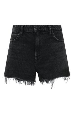 Женские джинсовые шорты DENIM X ALEXANDER WANG серого цвета, арт. 4D994038AD | Фото 1