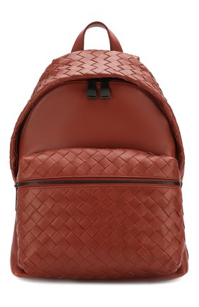 Мужской кожаный рюкзак BOTTEGA VENETA коричневого цвета, арт. 599634/VCPQ2 | Фото 1
