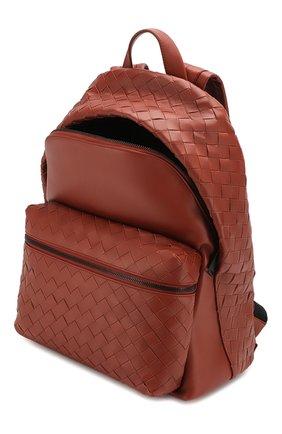 Мужской кожаный рюкзак BOTTEGA VENETA коричневого цвета, арт. 599634/VCPQ2 | Фото 4